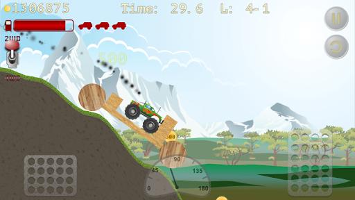 monster truck hill racer screenshot 3