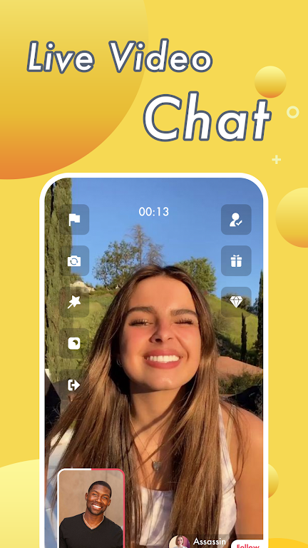 Vimo - Video Chat Strangers & Live Voice Talk  poster 3