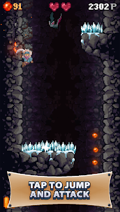 Cavefall Game Hack Android and iOS 1