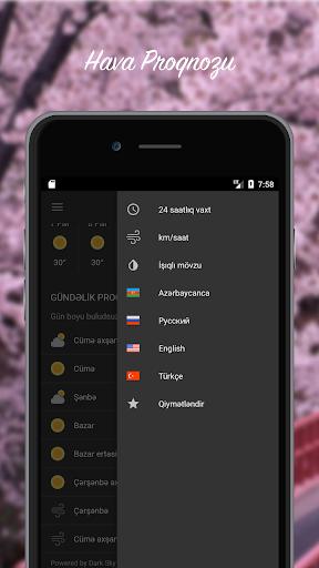 Hava Proqnozu - Azu0259rbaycan  screenshots 2