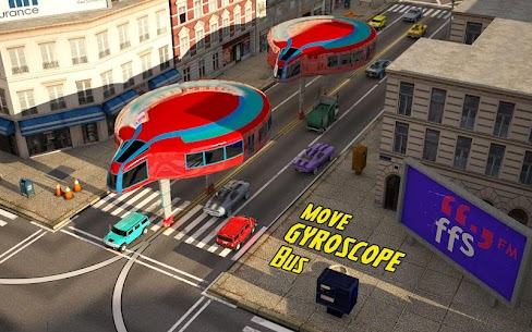 Gyroscopic Elevated Bus Simulator Public Transport Apk 4