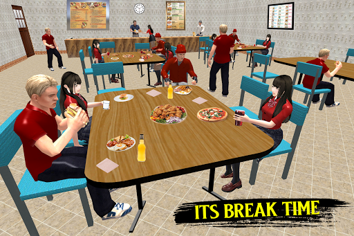 High School Boy Simulator: School Games 2020 android2mod screenshots 1
