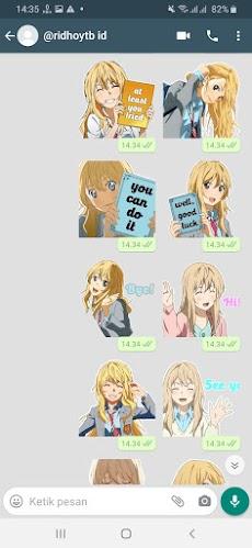 Stiker Wa Anime Vocaloid Sticker For WAStickerAppsのおすすめ画像2