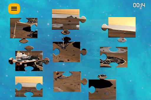 jigsaw galaxy astronomy puzzle screenshot 3