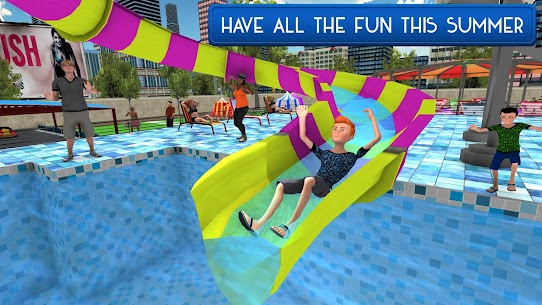 Swimming Pool Summer Fun: Waterslides Adventure 1.7 Latest MOD Updated 3