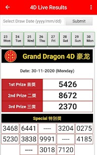 4D Live Results 5