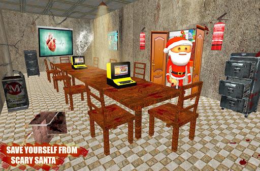 Code Triche Scary Santa Granny Chapter 2 - Escape Horror House (Astuce) APK MOD screenshots 3