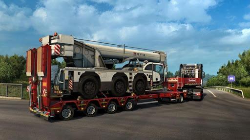 Cargo Real Driving Truck Simulator  screenshots 4