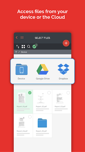 iLovePDF - PDF Editor & Reader 1.4.0 Screenshots 6