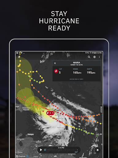Storm Radar: Hurricane Tracker, Live Maps & Alerts 2.2.3 Screenshots 10