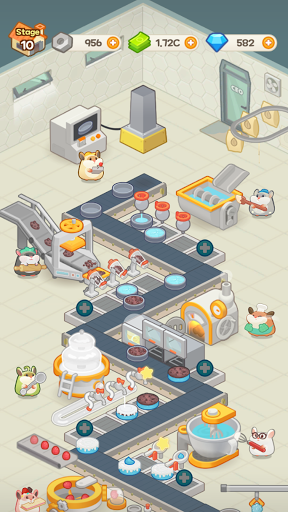 Idle Cake Tycoon - Hamster Bakery Simulator android2mod screenshots 23