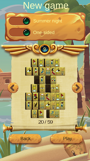 Doubleside Mahjong Cleopatra 2 1.6 screenshots 2