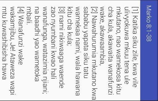 Biblia Takatifu android2mod screenshots 6