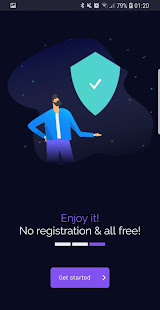 Free VPN - unlimited secure hotspot proxy vpnify 1.9.5 Screenshots 5
