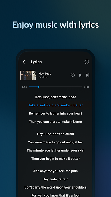 Music Player & MP3 Player - Lark Player poster 3