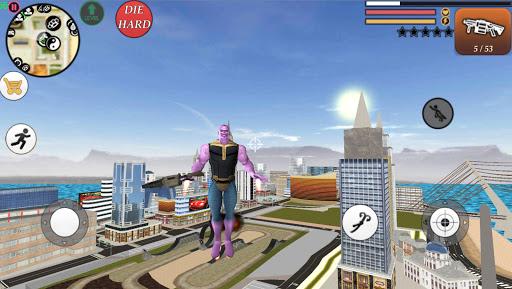 Vegas Crime Rope Hero Simulator 1.4 Screenshots 1