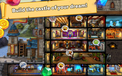 Hustle Castle: Medieval games in the kingdom - RPG modavailable screenshots 14