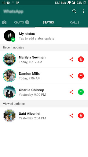 All Status Saver for WhatsApp - Status Downloader 2.2 Screenshots 2