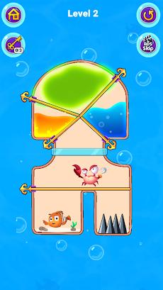 Fish Pin - Water Puzzle & Pull Pin Puzzleのおすすめ画像4