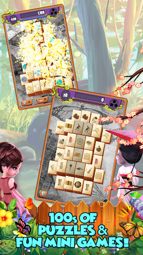 Mahjong Gardens: Butterfly World screenshots 16