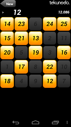 Touch the Numbers for Androidのおすすめ画像1