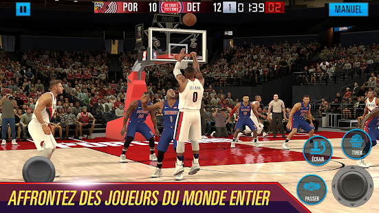 NBA 2K Mobile Basketball Capture d'écran