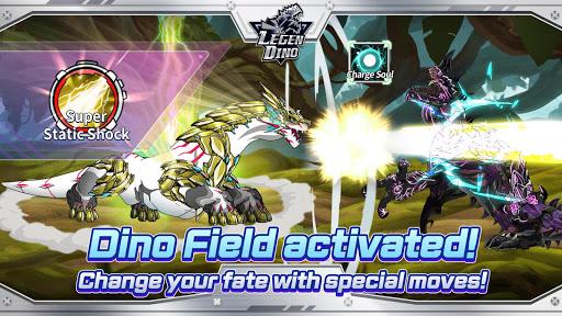 Legendino: Dinosaur Battle Varies with device screenshots 11
