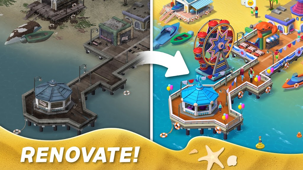Match Town Makeover・Town Renovation Match 3 Puzzle poster 7