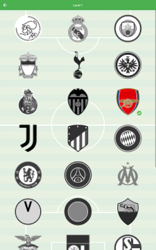 Soccer Club Logo Quiz: more than 1000 teams 1.82 screenshots 12