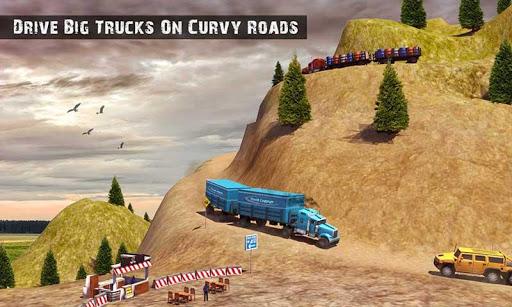 USA Truck Driving School: Off-road Transport Games  screenshots 6