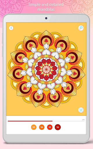 Color by Number u2013 Mandala Book modavailable screenshots 10