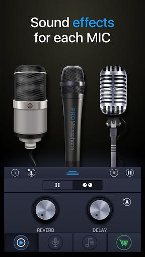 Pro Microphone 1.2.8 Screenshots 2