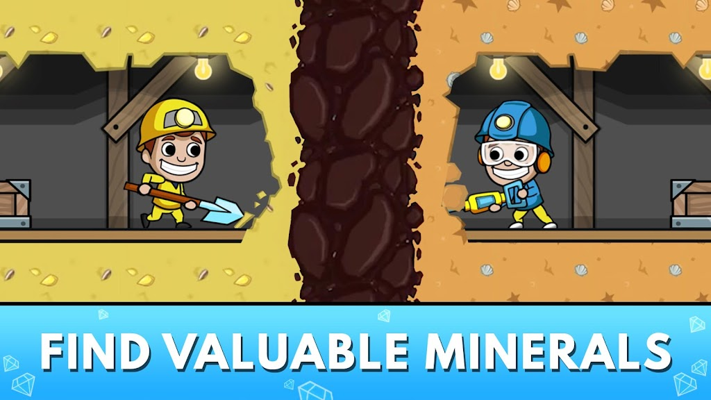 Idle Miner Tycoon: Gold & Cash Game MOD poster 10