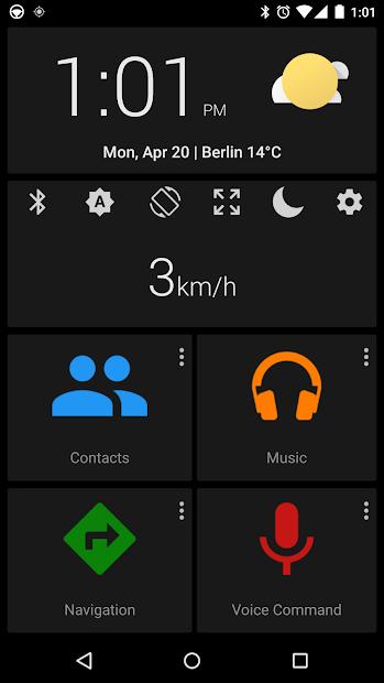 Captura de Pantalla 4 de Car dashdroid - infotainment para android