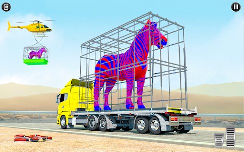 Farm Animals Transporter Truck Simulator :Wild Sim 2
