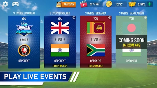 T20 Cricket Champions 3D MOD (Unlimited Gold Coins) 5