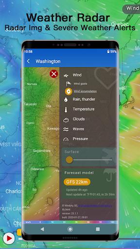Weather - Live weather & Radar app 1.0.3.9 Screenshots 4