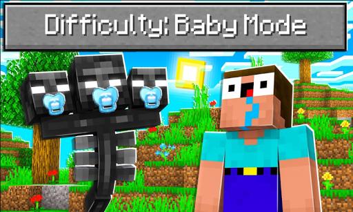 Baby Mode Mod for Minecraft PE 3.1 Screenshots 2