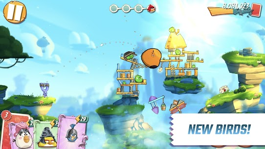 Angry Birds 2 MOD APK 2.58.0 (Unlimited Life/Gems/Energy/Life Pearls) 2