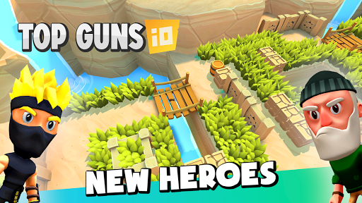 Top Guns.io - Guns Battle royale 3D shooter 1.2.0 screenshots 1