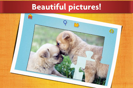 Dogs Jigsaw Puzzles Game - For Kids & Adults 28.2 Screenshots 15