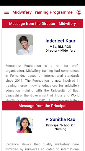 Fernandez Midwifery App screenshot 1