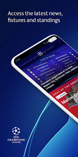 UEFA Champions League football: live scores & news android-1mod screenshots 1
