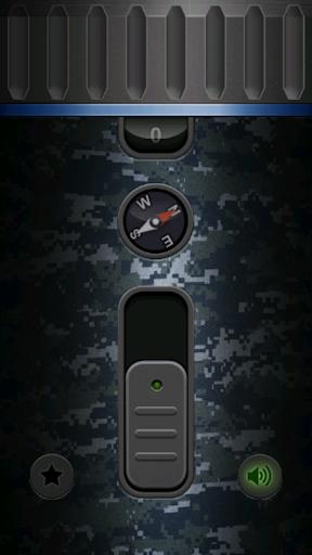 Military Flashlight Free android2mod screenshots 5