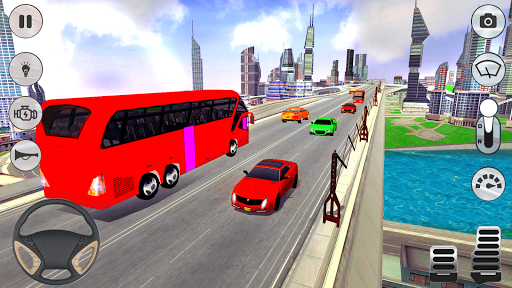 City Coach Bus Driver 3D Bus Simulator APK MOD (Astuce) screenshots 1