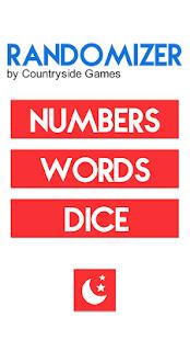 Randomizer Pro - Dice, Numbers