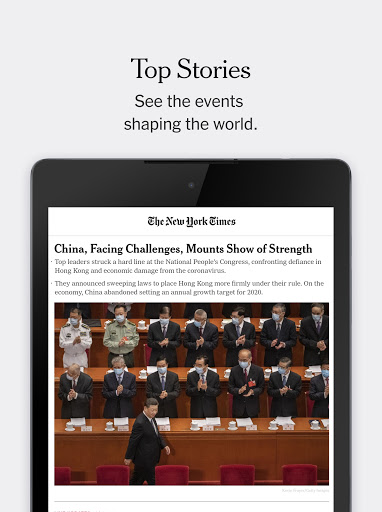 The New York Times 9.27 Screenshots 8