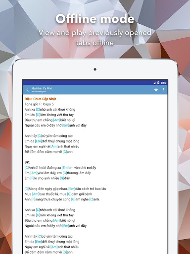 Hop Am Chuan - Guitar Tabs and Chords android2mod screenshots 18