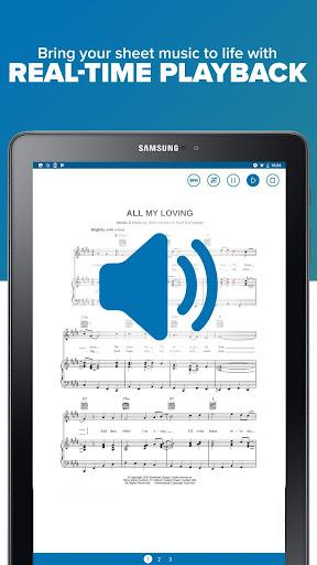 Musicnotes Sheet Music Player modavailable screenshots 10