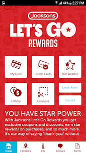 Jacksons Let's Go Rewards 20.04.01 Mod Android Updated 2